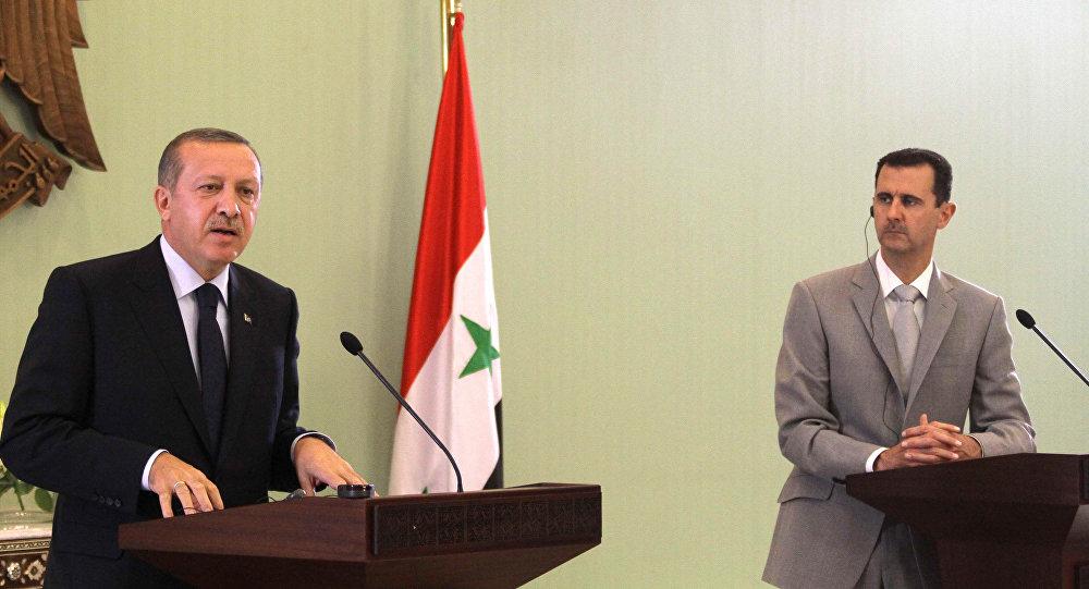 بشار الأسد وأردوغان