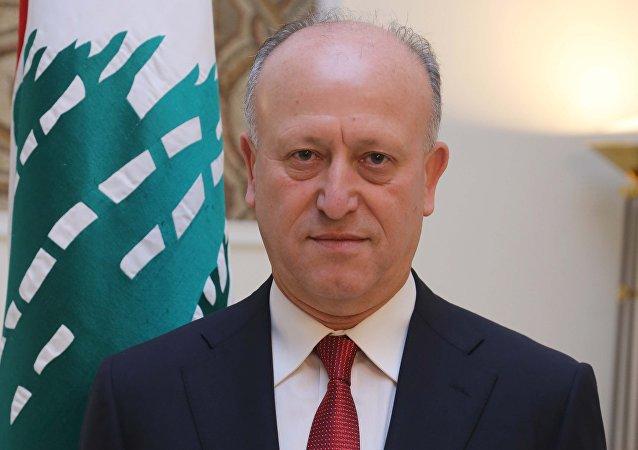 وزير العدل اللبناني أشرف ريفي