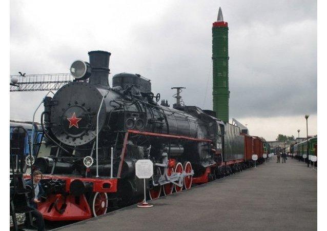 قطار الصواريخ الروسي