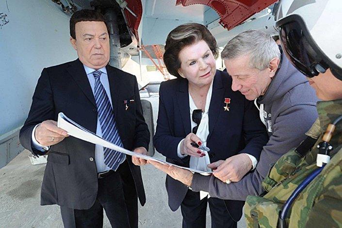 فالينتينا تيرشكوفا أول رائدة فضاء في العالم