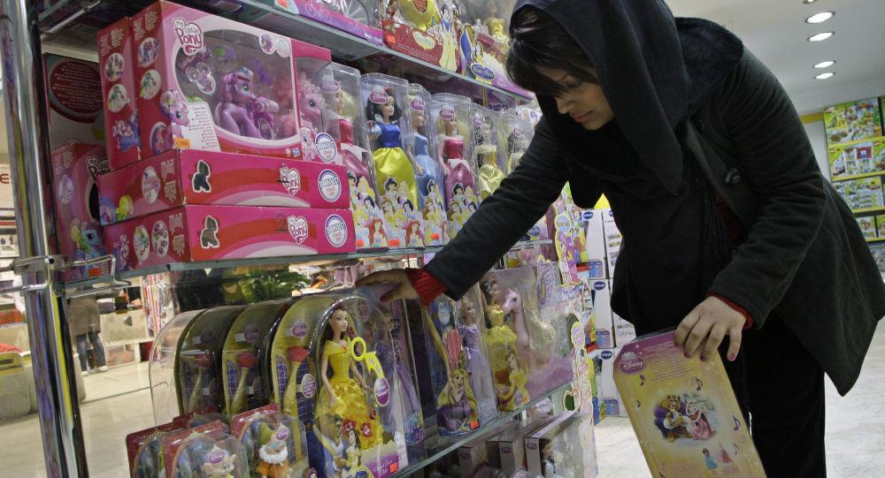 ألعاب الباربي في إيران