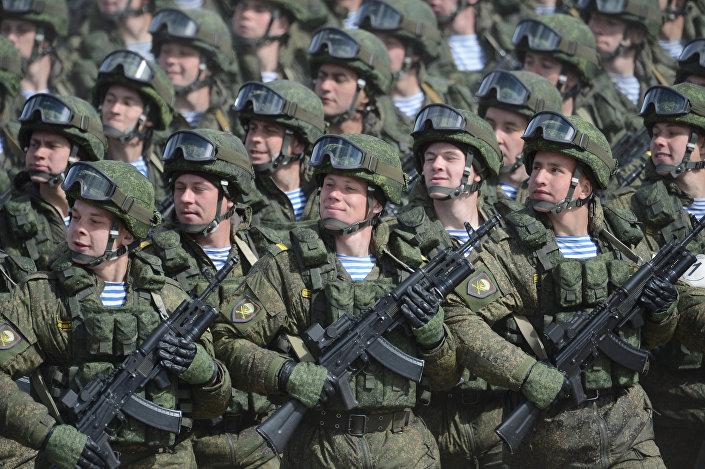 ロシア軍の兵士
