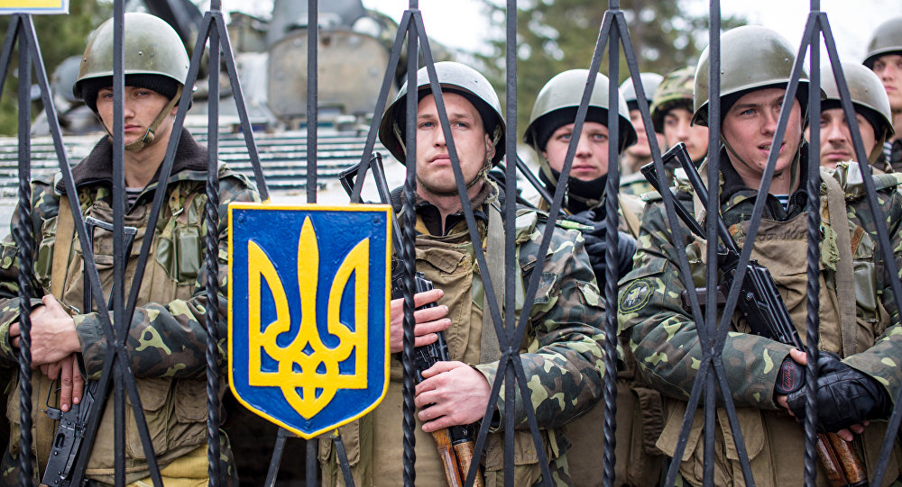 قاعدة عسكرية أوكرانية سابقة في القرم