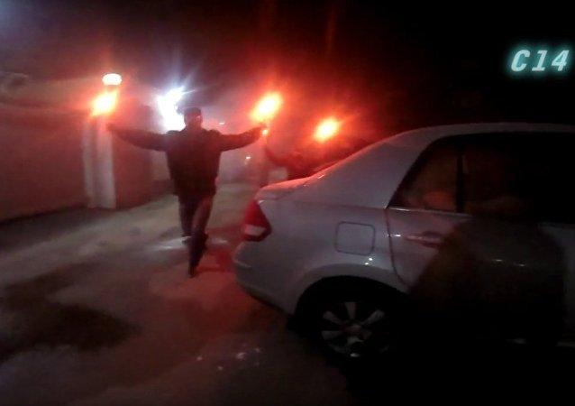 حادث الهجوم على السفارة الروسية في كييف
