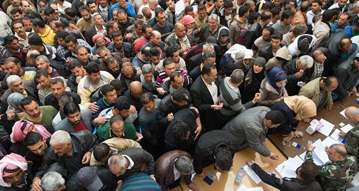 مشاركون في مؤتمر المصالحة بسوريا