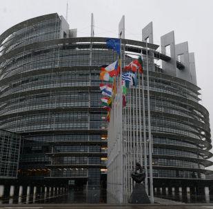 مبنى البرلمان الأوروبي