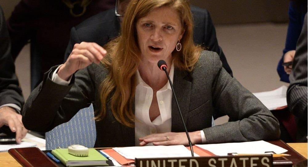 مندوبة أمريكا لدى الأمم المتحدة سامنثا باور