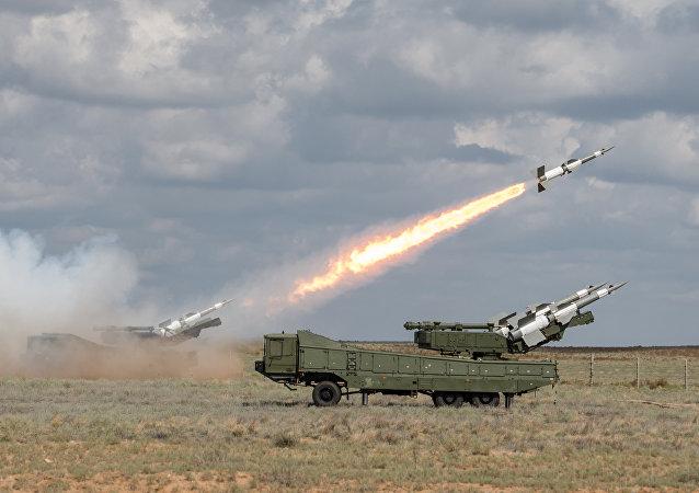 المناورات العسكرية في طاجكستان