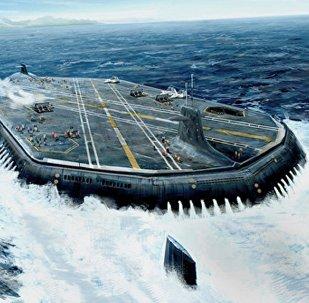 روسيا تصنع حاملة طائرات خارقة
