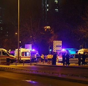 انفجار في أنقرة