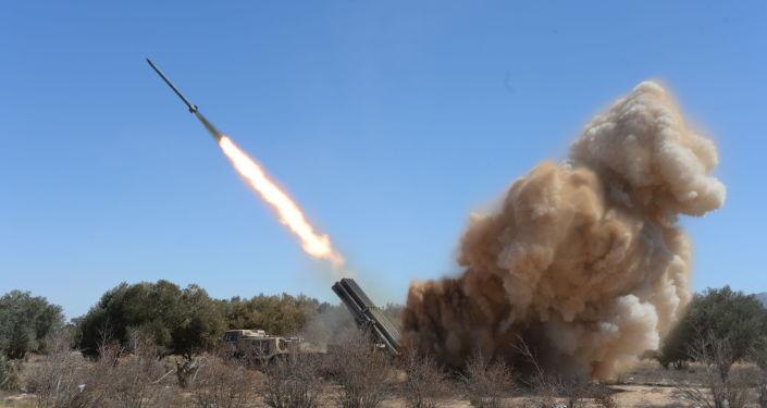 عمليات عسكرية للجيش العربي السوري في محيط تدمر