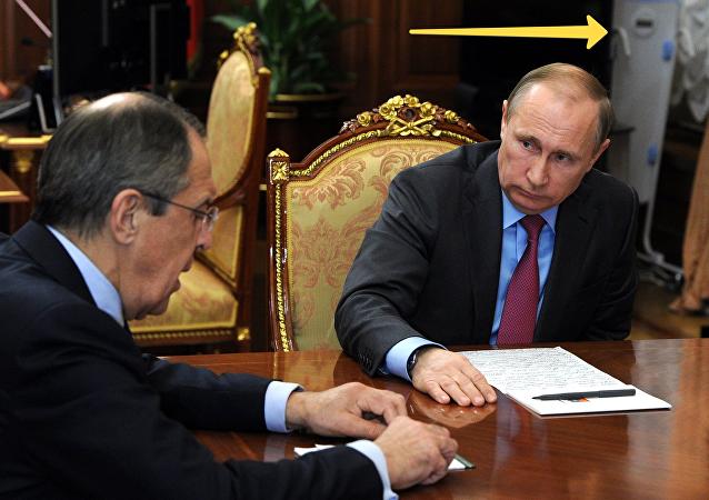 جهاز اجتماع بوتين وشويغو ولافروف