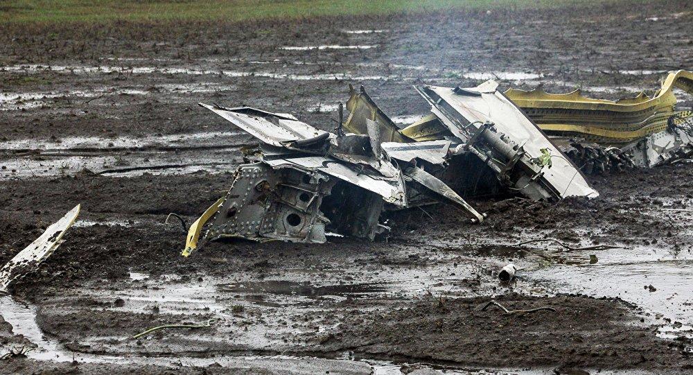 الطائرة المنكوبة في رستوف على الدون