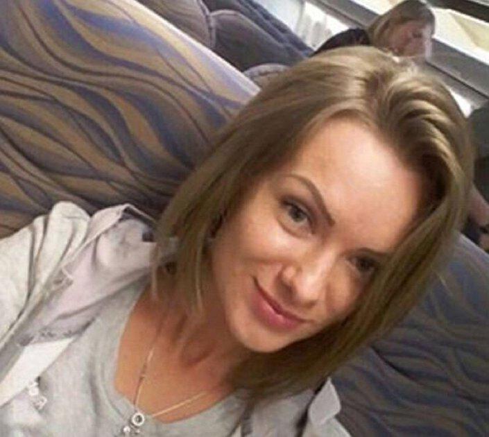 السيلفى الأخير لفتاة أوكرانية في الطائرة الإماراتية المنكوبة بروسيا