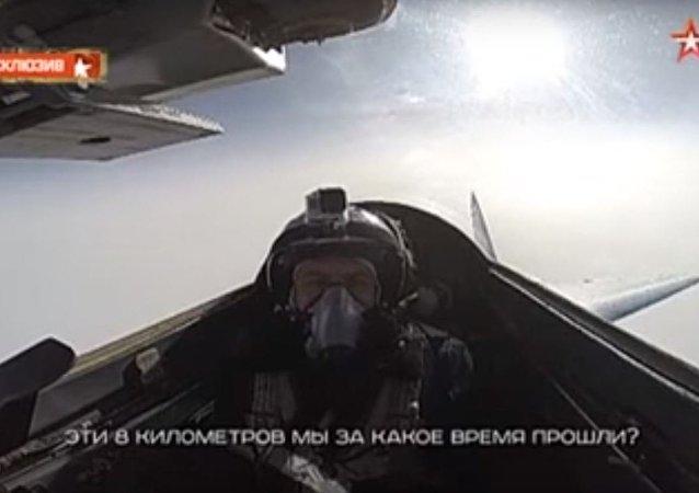 ميغ-29 الأسرع من الصوت تحلق بسرعة هائلة تصل للفضاء