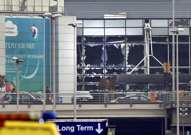 انفجاران يهز مطار العاصمة البلجيكية بروكسل