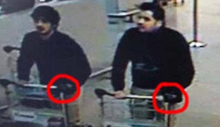 المشتبه بهما في تفجيرات بروكسل