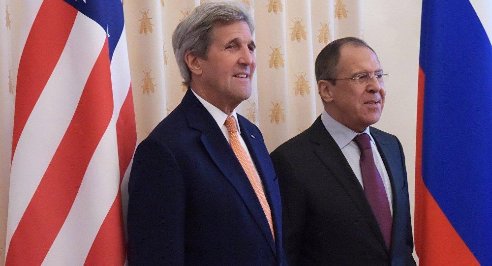 لقاء لافروف - كيري في موسكو