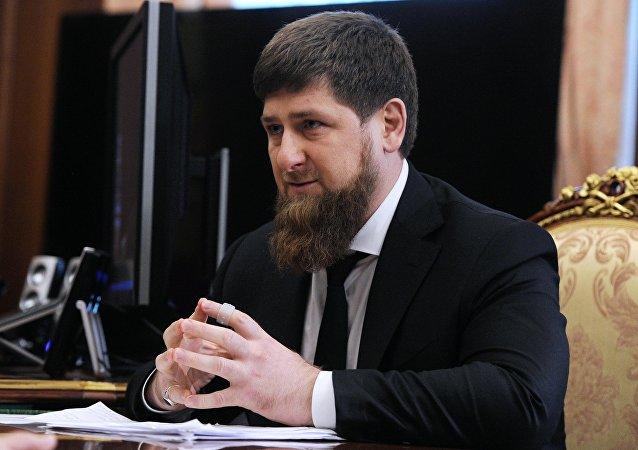 الرئيس الشيشاني رمضان قاديروف