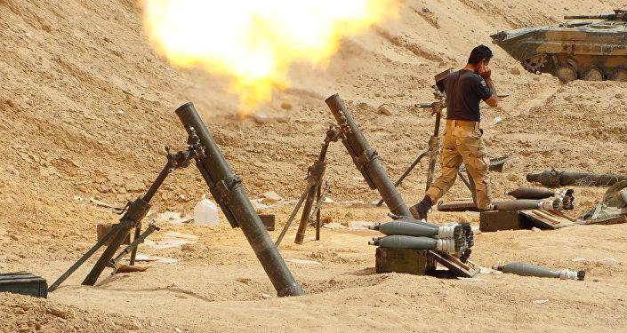 الجيش السوري في تدمر