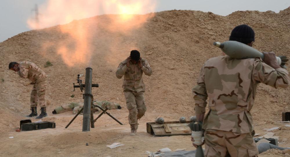 الجيش السوري يقصف موقعا للإرهابيين
