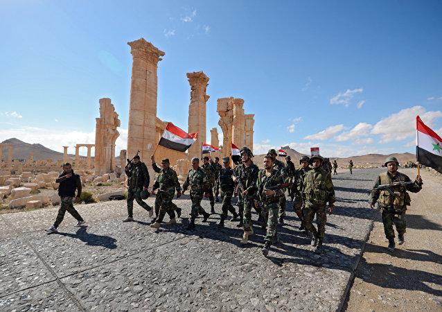 الجيش العربي السوري في تدمر