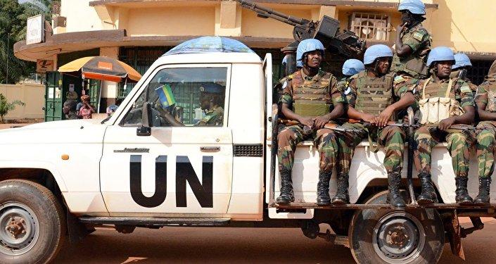 قوات حفظ السلام التابعة للأمم المتحدة في أفريقيا الوسطى