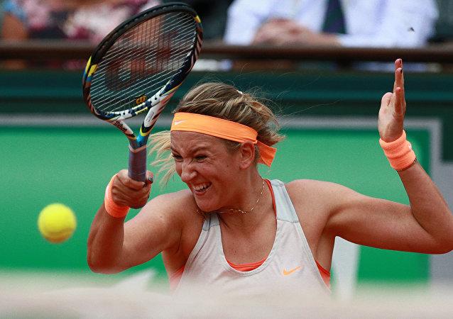 لاعبة التنس البيلاروسية فيكتوريا أزارينكا