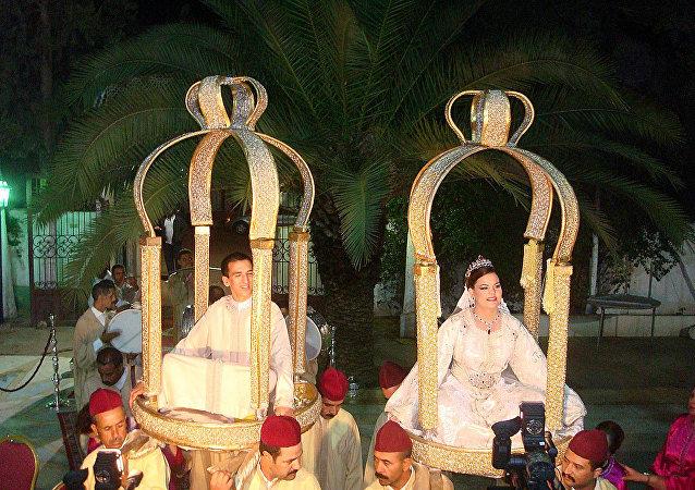 الزواج فى المغرب