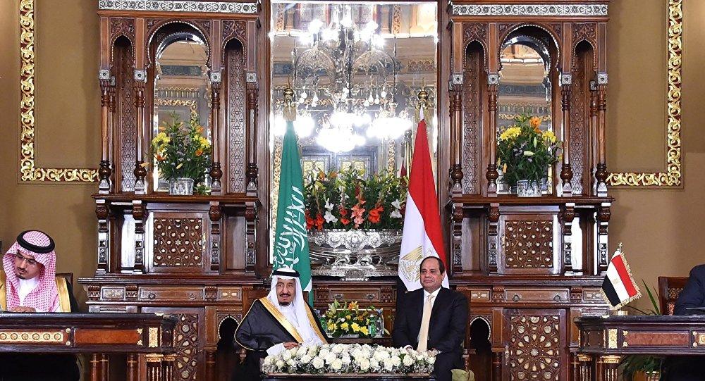 الرئيس السيسي و الملك سلمان