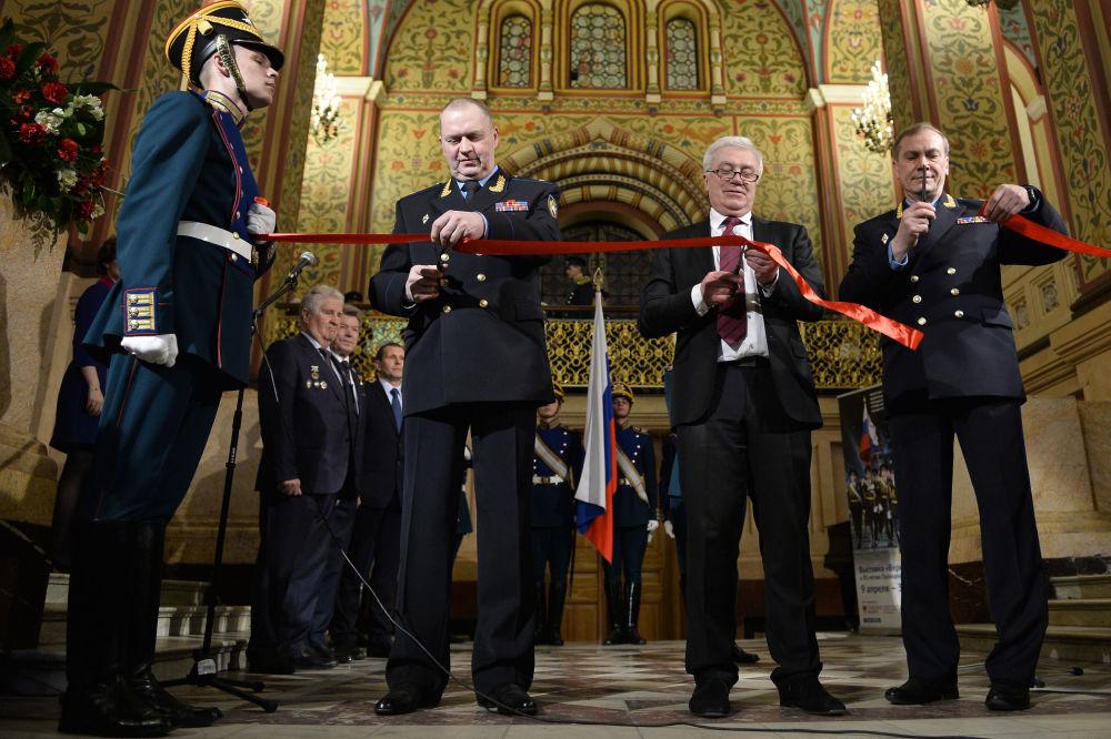 مراسم افتتاح معرض للفوج الرئاسي، تكريماً لذكرى ال_ 88 لتأسيس الفوج.