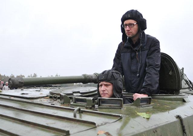 رئيس الوزراء الأوكراني أرسيني ياتسينيوك