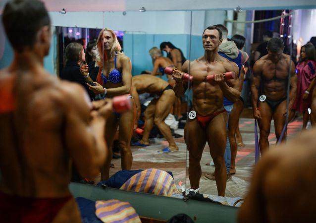 البطولة المفتوحة لمنطقة نوفوسيبيرسك في رياضة كمال الاجسام واللياقة البدنية.