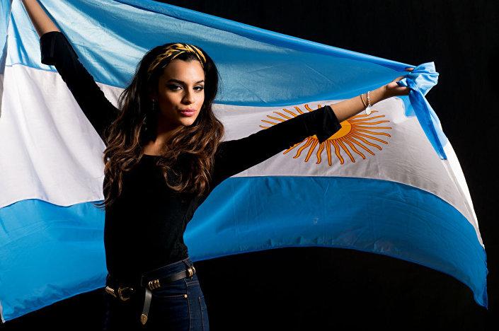 فتاة أرجنتينية