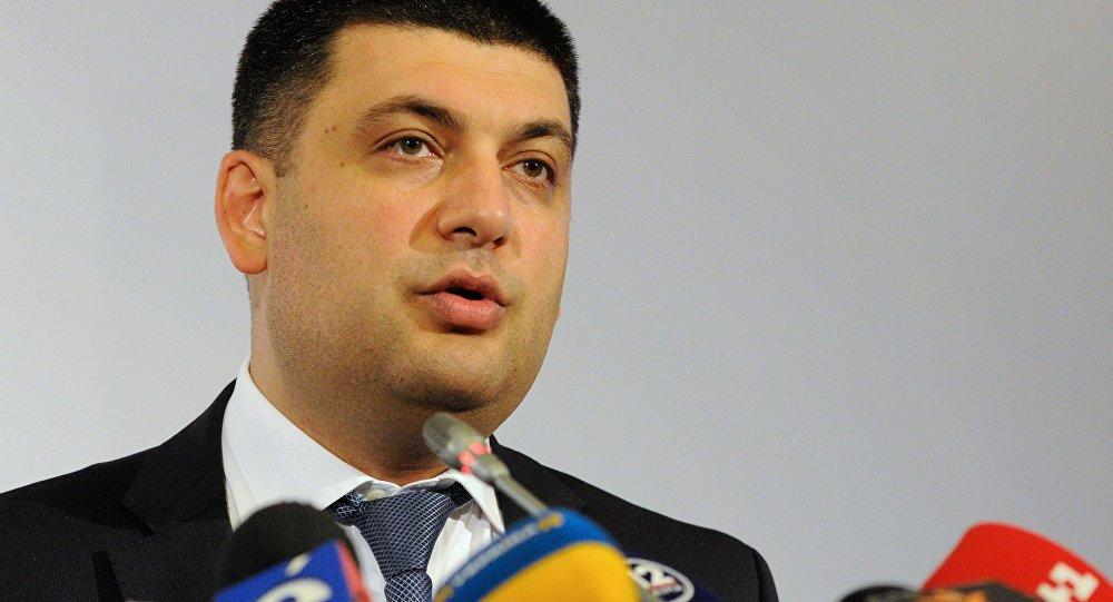 فلاديمير غرويسمان، الرئيس الجديد للحكومة الأوكرانية
