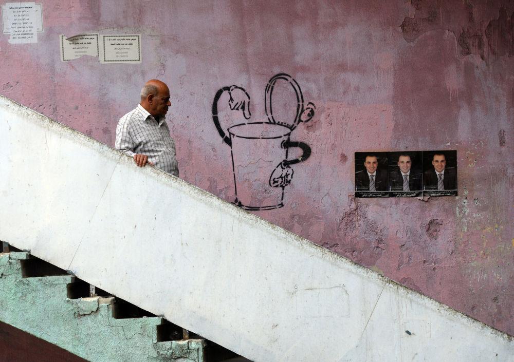 شوارع سوريا خلال الحملة الدعائية للانتخابات البرلمانية السورية