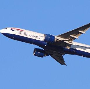 طائرة بريطانية