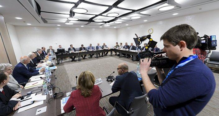 محادثات جنيف حول سوريا