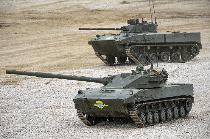 المدرعة الروسية بي.ام.دي-4/ باختشا-أو والمدرعة المضادة لصواريخ الدبابات سبروت-اس/دي