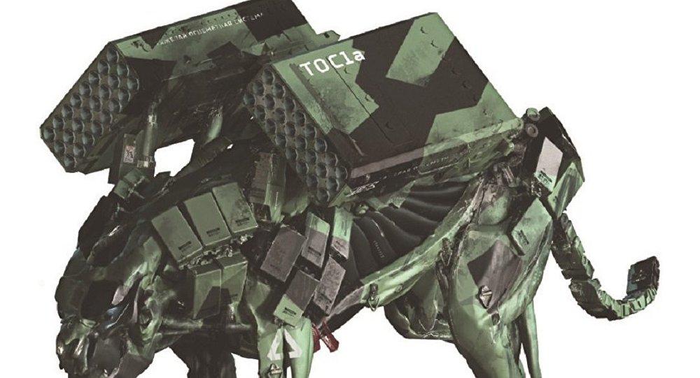 روبوتات روسية مقاتلة تشبة الحيوانات