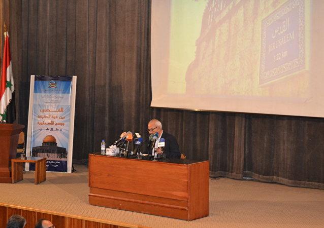 فعالية أطلقتها مؤسسة القدس الدولية بفرعها في سوريا