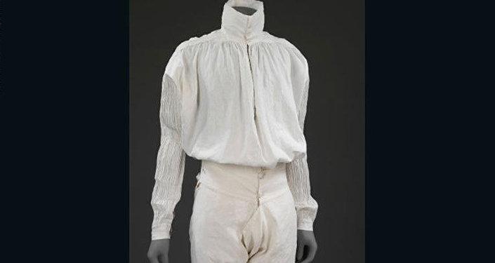 ملابس داخلية للرجال مصنوعة من أقمشة الكتان اُستخدمت بين العامين 1775 و1800.