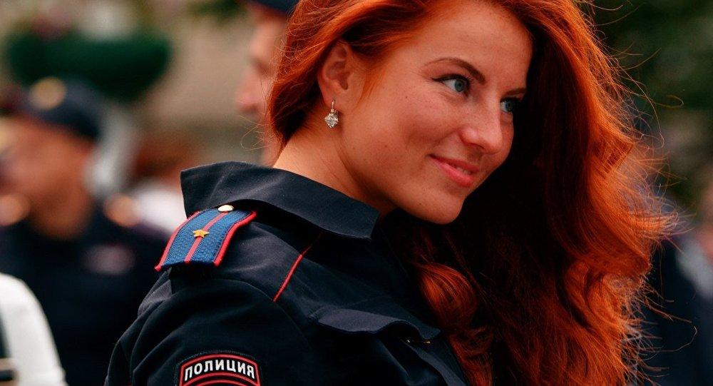 أجمل الفتيات فى الشرطة الروسية