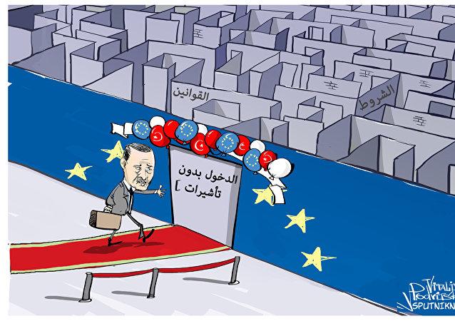 هدية أوروبا لأردوغان