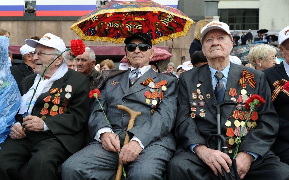 المحاربي القدامى اللذين شاركوا في الحرب الوطنية العظمى (1941-1945)