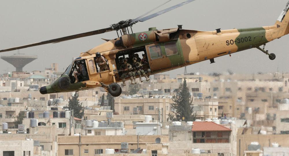 المعرض العسكري SOFEX-2016 في الأردن بقاعدة الملك عبدالله الثاني في عمان.