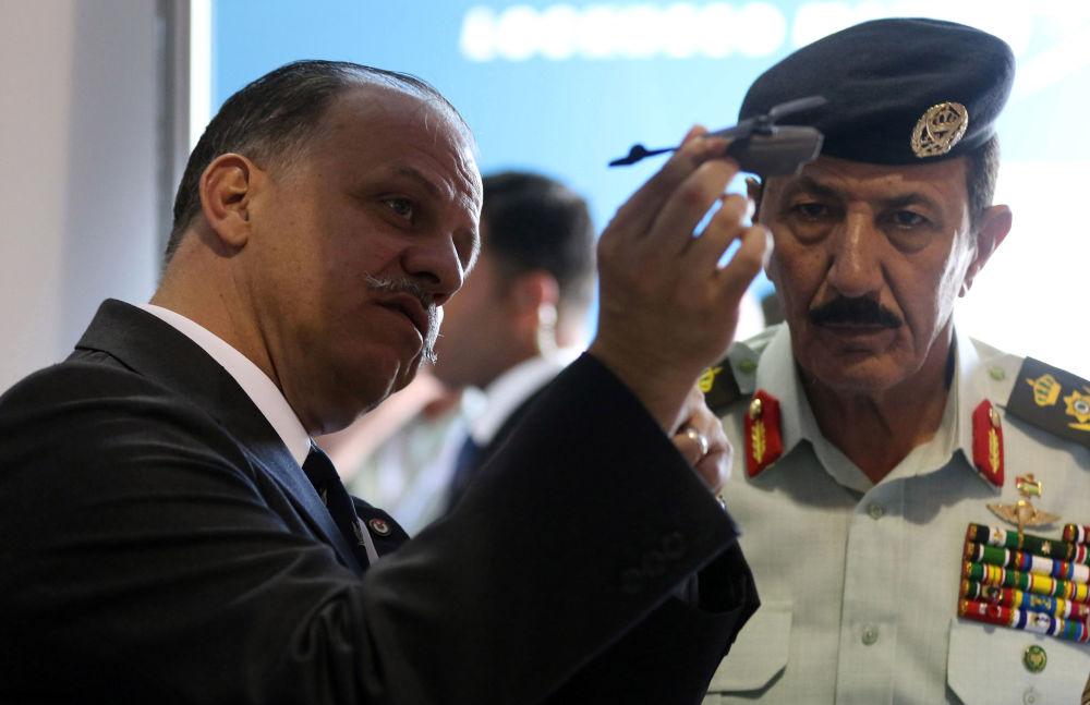 المعرض العسكري SOFEX-2016 في الأردن بقاعدة الملك عبدالله الثاني في عمان، 11 مايو/ آيار 2016.