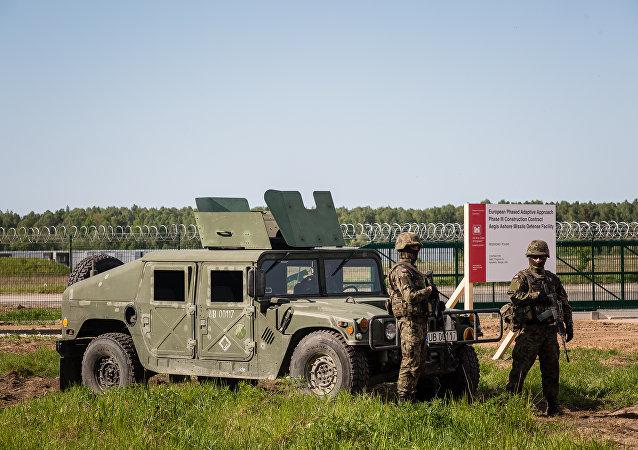 الدرع الصاروخية الأمريكية في بولندا