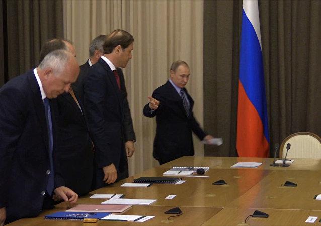بوتين يرعب نائب رئيس الوزراء