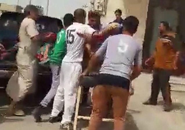 ضحايا القصف الداعشي بصواريخ جهنم